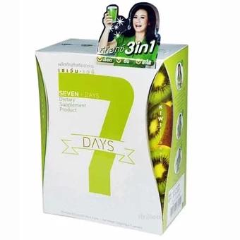 7 Days Detox by Jintara เซเว่น เดย์ ดีท็อกซ์ จินตหรา 7 ซอง 435-890 บาท