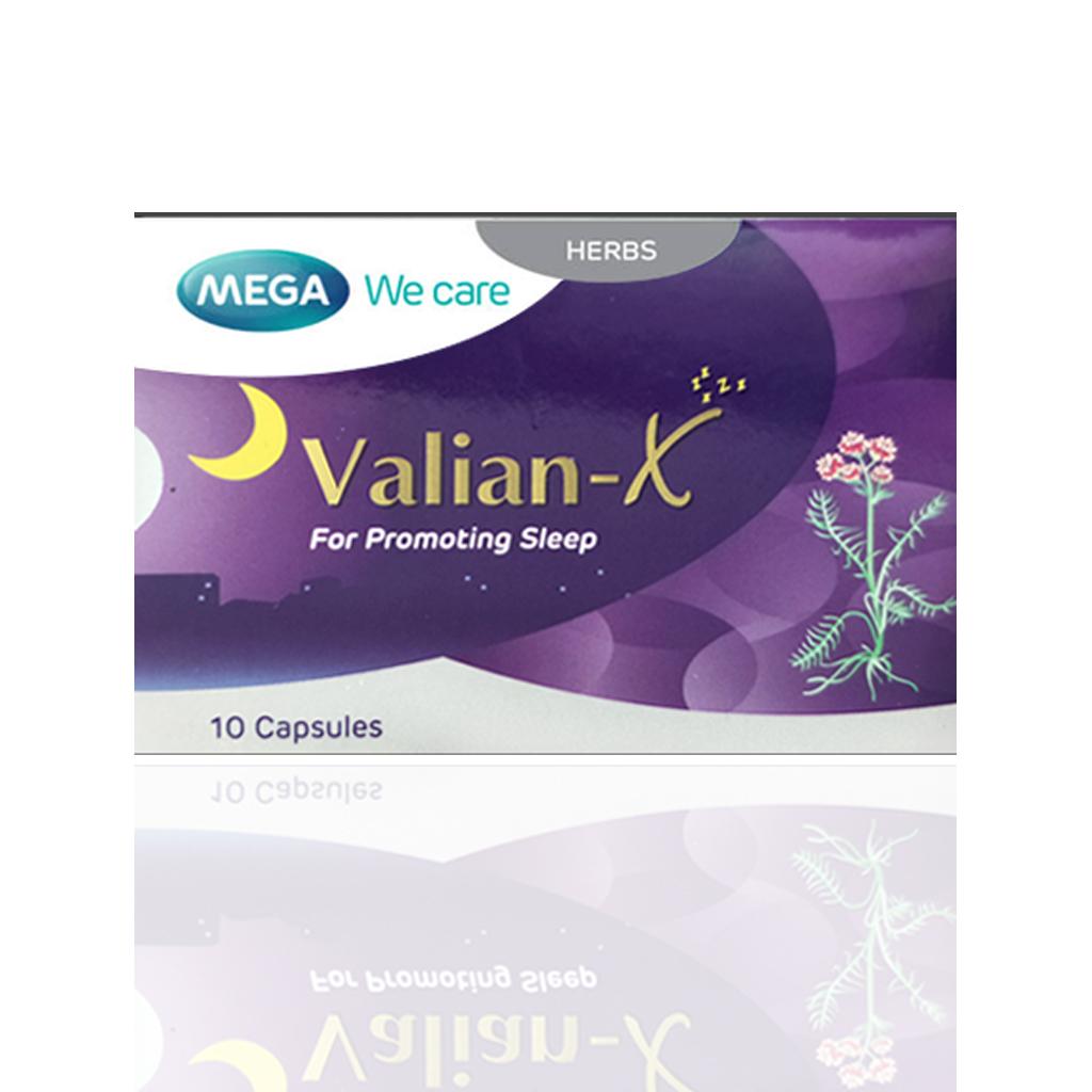 MEGA WE CARE VALIAN-X 10 CAPSULES