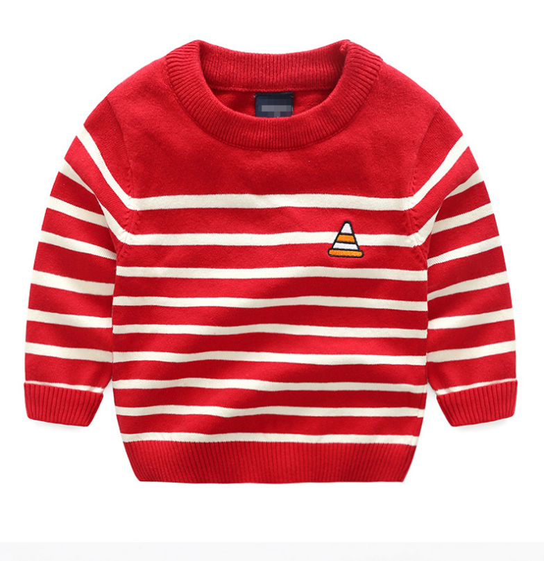 เสื้อ สีแดง แพ็ค 5 ชุด ไซส์ 100-110-120-130-140