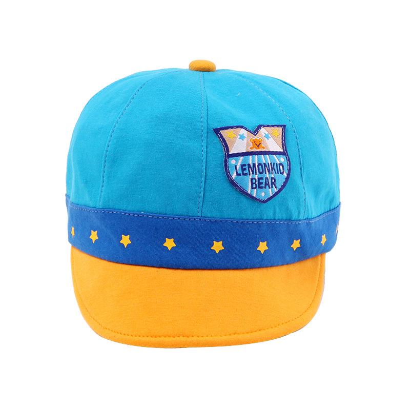 หมวกสีฟ้า แพ็ค 3 ชิ้น