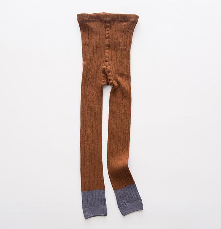 ถุงเท้าน้อง สีน้ำตาล แพ็ค 6 คู่ ไซส์ ประมาณ 115 ซม