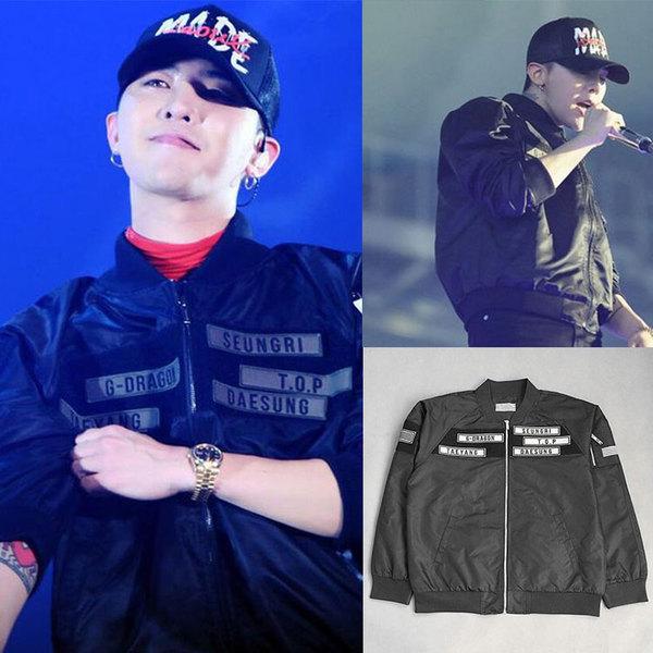 เสื้อแฟชั่นนักร้องเกาหลี เสื้อแขนยาวกันหนาว Bigbang GD