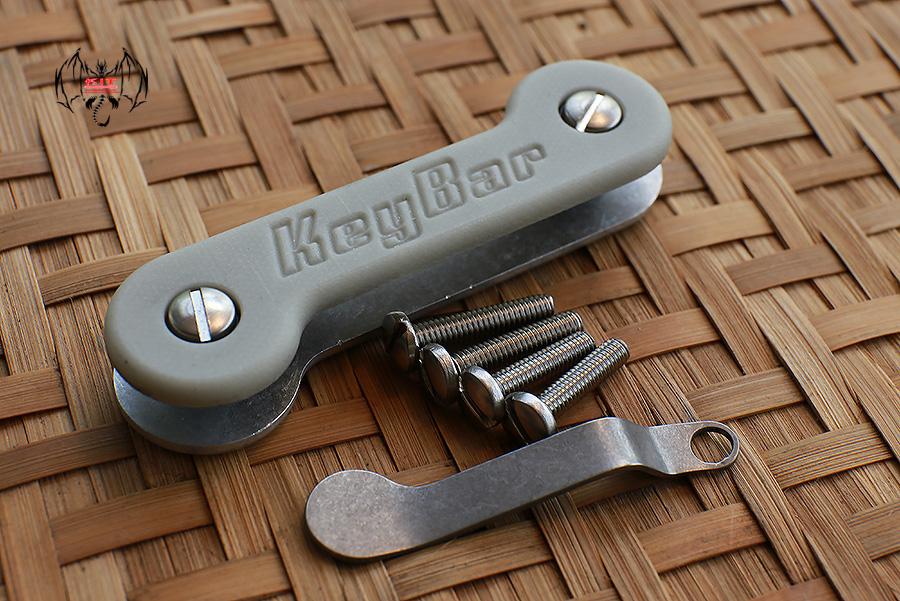 Key Bar Gray G10/Aluminum