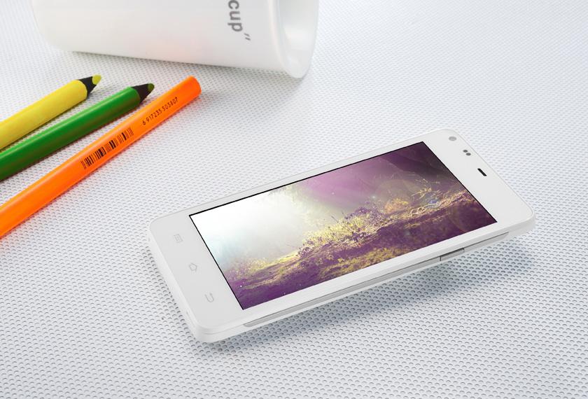 สมาร์ตโฟน THL T5S โทรศัพท์ 3G MTK6582 Quad Core Android 4.2 สีขาว