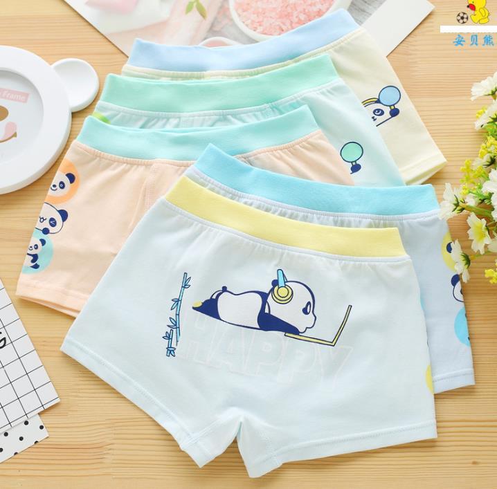 กางเกงในเด็ก คละสี แพ็ค 20 ตัว ไซส์ M อายุ2-3 ปี