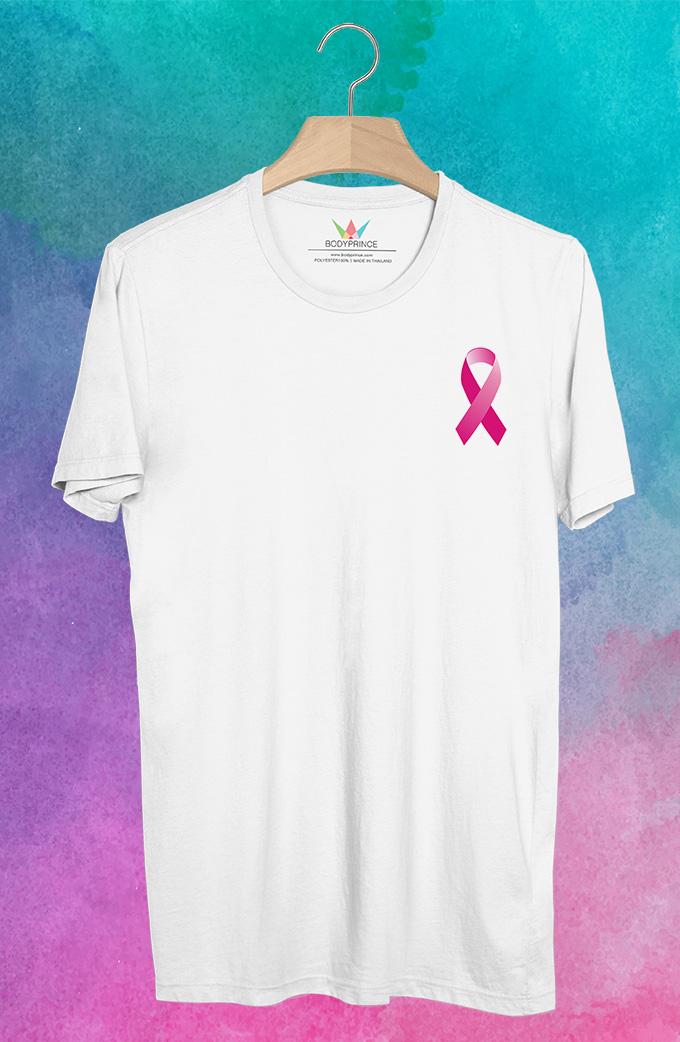 BP413 เสื้อยืด Pink Ribbon