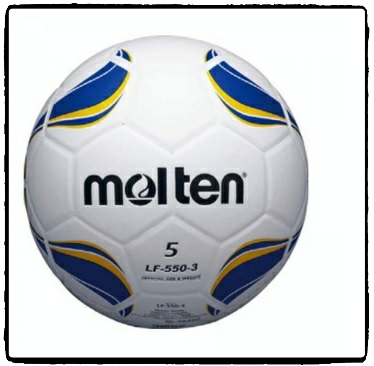 ลูกฟุตบอลหนังอัด Football เบอร์ 5 Molten LF-550-3