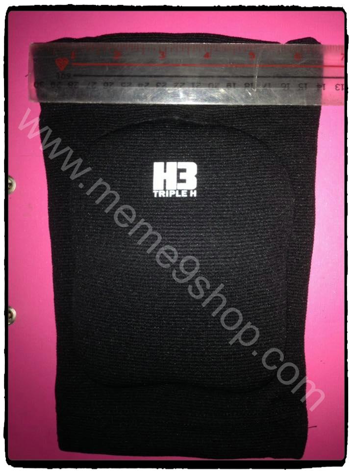 สนับเข่า H3 (สีดำ) แบบยาว ฟองน้ำ