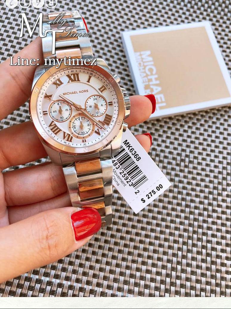 นาฬิกาข้อมือ MICHAEL KORS รุ่น Brecken Chronograph Ladies Watch - MK6368