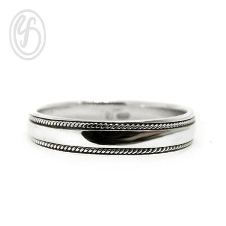 แหวนเงินเกลี้ยง เงินแท้ 92.5% ขัดเงา หน้าหว้าง 4 มม. เหมาะเป็นของขวัญในวันพิเศษให้คนพิเศษของคุณ