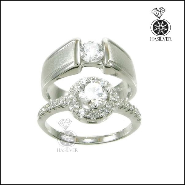 แหวนเพชรCZ คู่รัก เพราะเธอคือคนพิเศษ