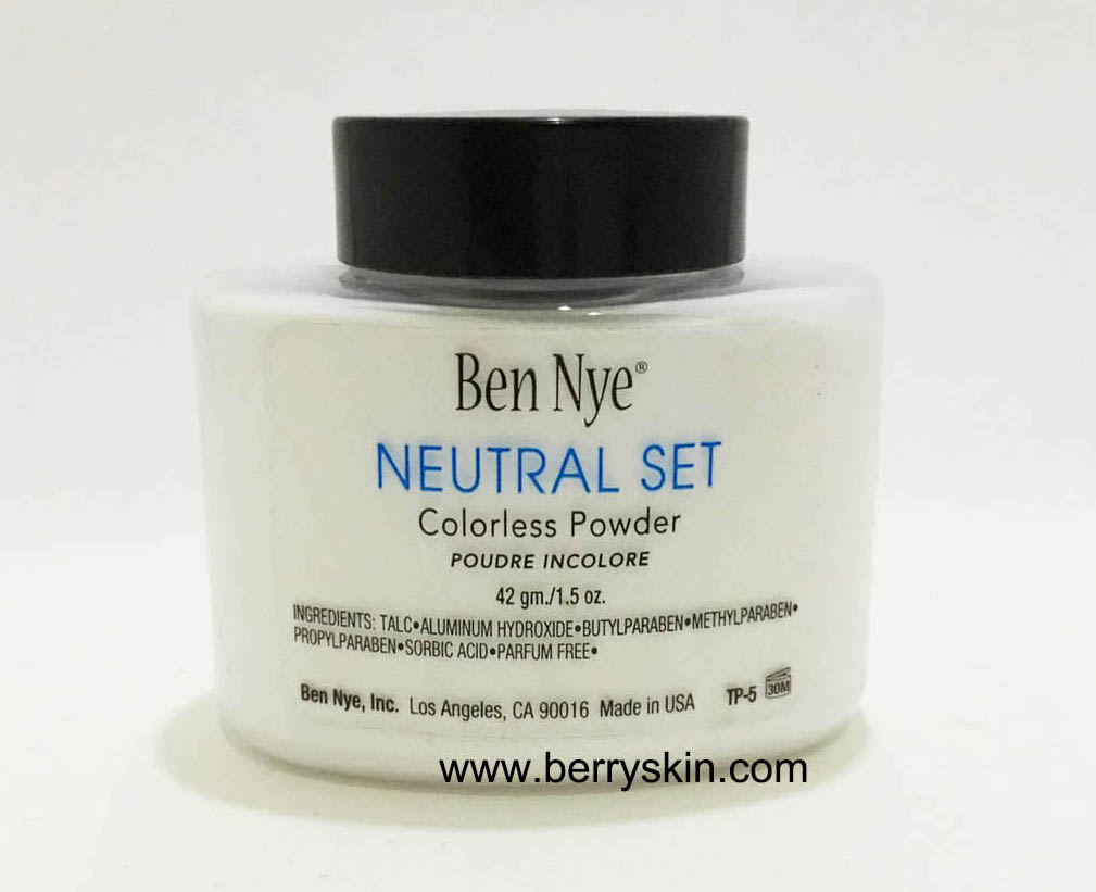 Ben Nye Colorless Face Powder #Neutral Set 42gm