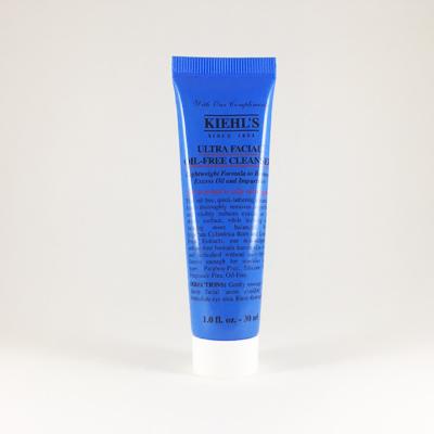 (ขนาดทดลอง): Kiehl's Ultra Facial Oil-Free Cleanser 30ml **สำหรับคนผิวมัน**