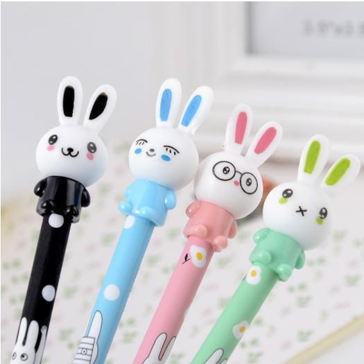 ปากกาตัวกระต่ายด้ามหลากสี 108บาท/โหล 12ชิ้น/โหล