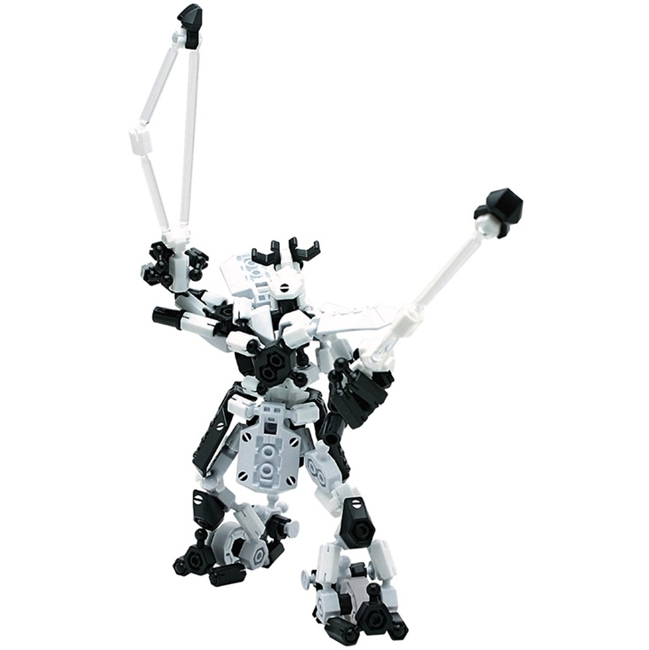 ASOBLOCK 25MB อโซบล็อค ชุด 25MB ชุดหุ่นยนต์ 3 in 1