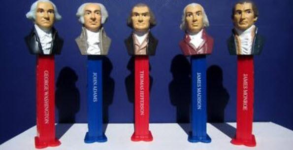 Pez ชุด US President ครบชุด 5 ชิ้น (2011)