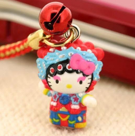 ที่ห้อยมือถือ คิตตี้เที่ยวญี่ปุ่น