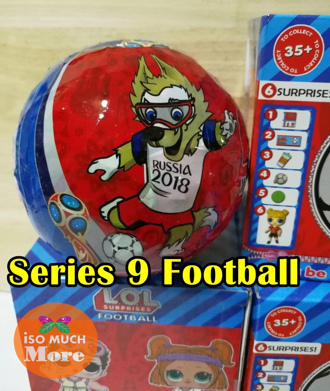LOL Surprise Series 9 Football WORLD CUP 2018 (แพ็ค1ลูก)