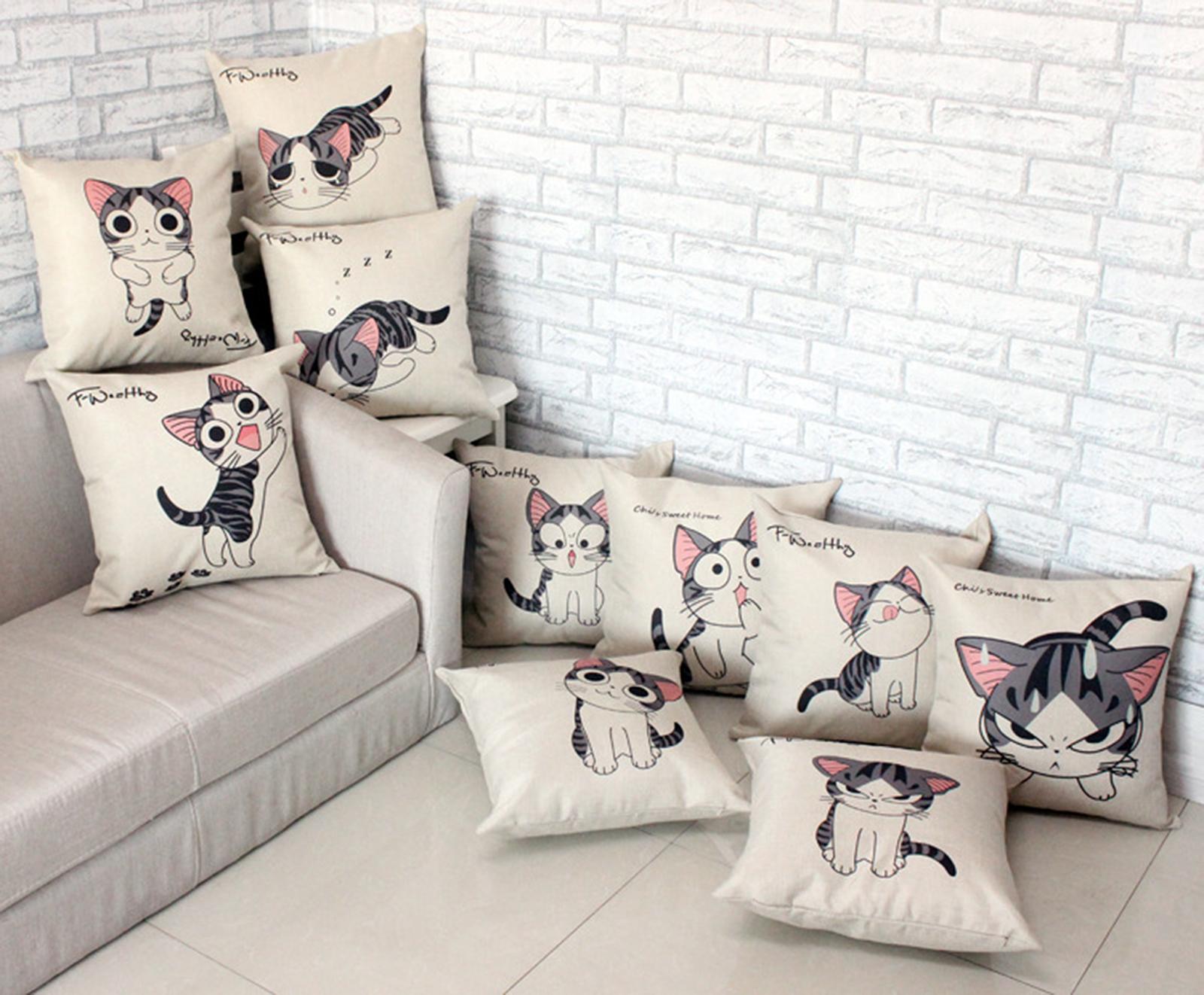 รวมรูปหมอนอิง Collection ทาสแมว 1