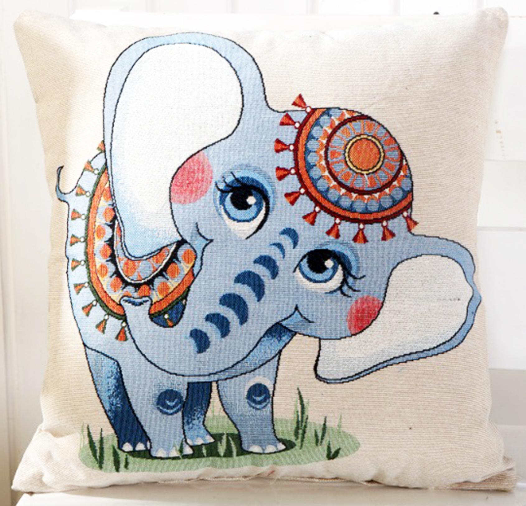 หมอนอิง Cartoon Elephant
