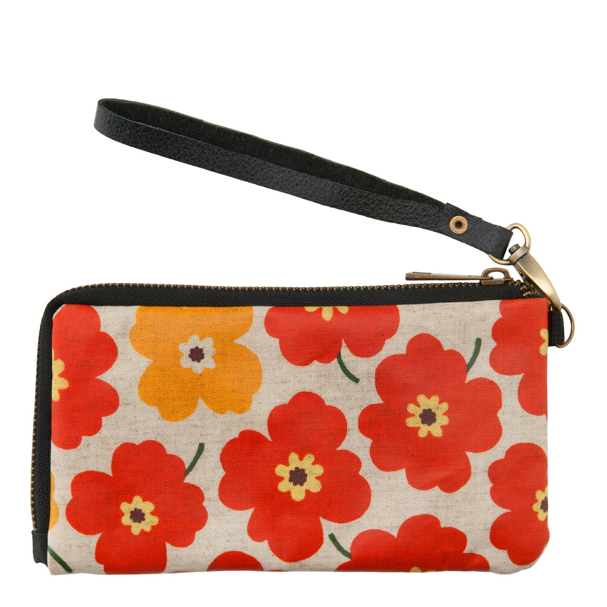 กระเป๋าสตางค์สำหรับผู้หญิงใบยาว ใส่โทรศัพท์มือถือ บัตรเครดิต
