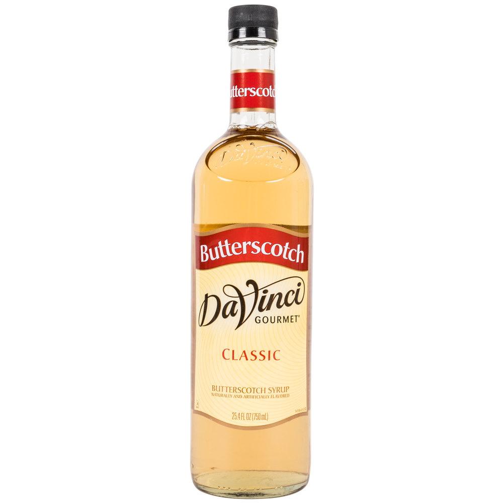 Butterscotch Syrup - 750ml