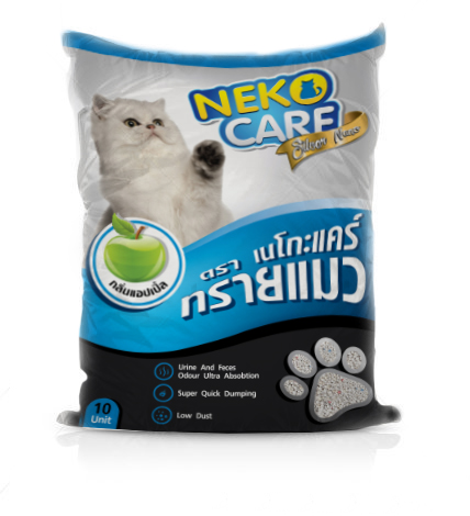 ทรายแมว Neko Care 8 Kg. 1 ถุง