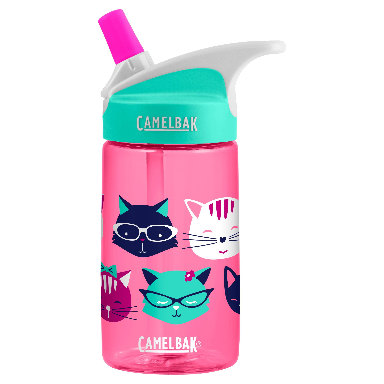กระติกน้ำเด็ก ยอดนิยม CamelBak eddy Kids .4L Water Bottle ลายแมวเหมียว