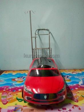รถเสาน้ำเกลือเด็ก มาเซอร์ราเต้-แดง-บี