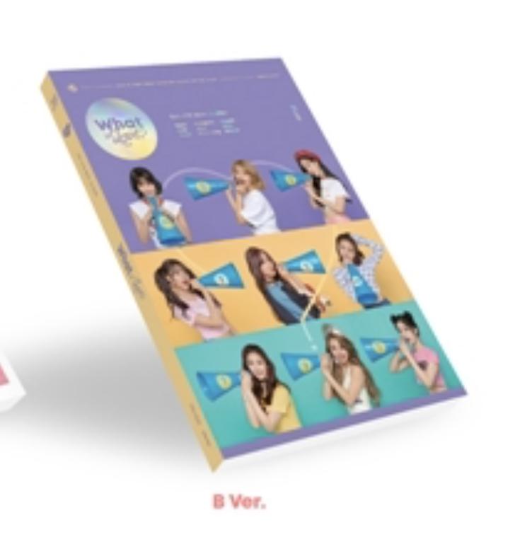TWICE - Mini Album Vol.5 [WHAT IS LOVE?] หน้าปก B ver