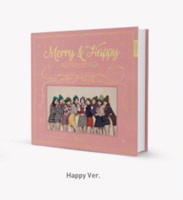 TWICE - Repackage Album Vol.1 [Merry & Happy] ปก happy พร้อมส่ง