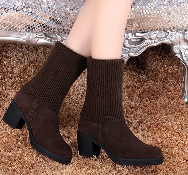 Pre-order รองเท้าแฟชั่น รองเท้านำเข้า รองเท้าบู้ท