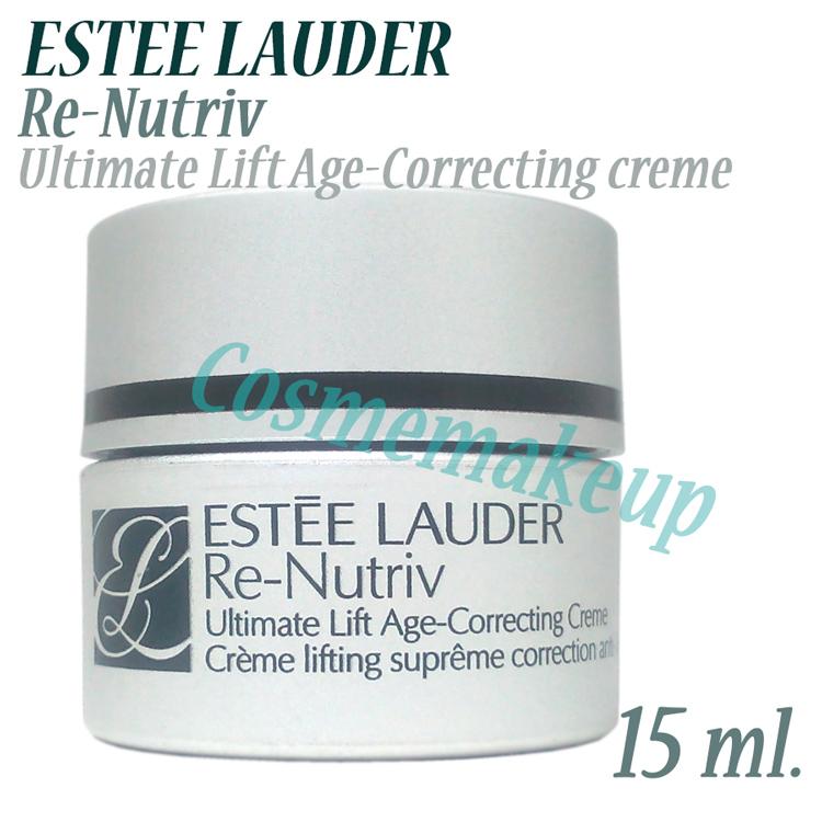ลดเกิน 81% * ESTEE LAUDER Re-Nutriv ultimate Lift Age Correcting creme 15 ml.(NEW!) ครีมบำรุงผิวทรงพลังที่ถือเป็นนวัตกรรมใหม่