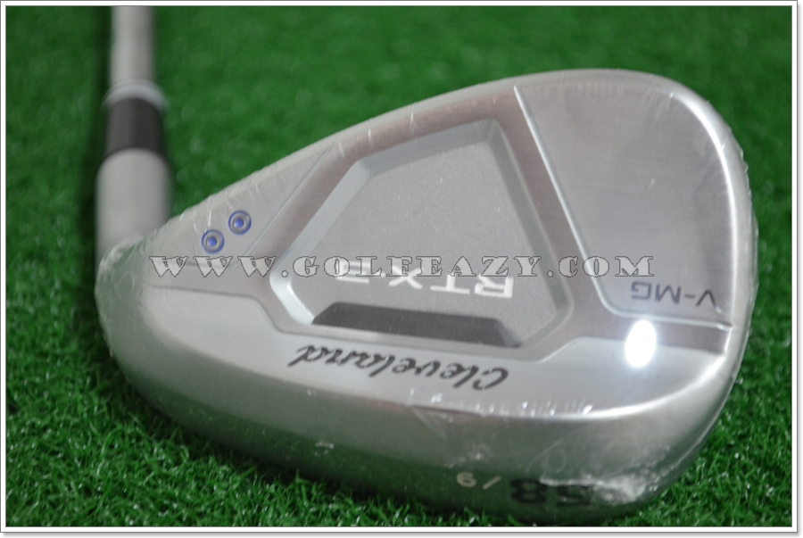 CLEVELAND RTX 3.0 V-MG SATIN CHROME WEDGE 58.09 LW FLEX WEDGE