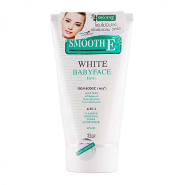 Smooth E White Foam 4 oz.