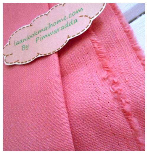 ผ้าพื้นคอตตอนหนากว่าคอตตอนปกติแต่ไม่ถึงแคนวาส แหล่งหาในไทยค่ะ -ขนาด 1/2 เมตร