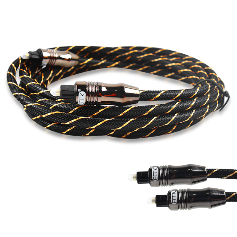 สาย Optical ERTK Digital Optical Fiber Audio Cable OD 6.0 for DVD CD (3M)