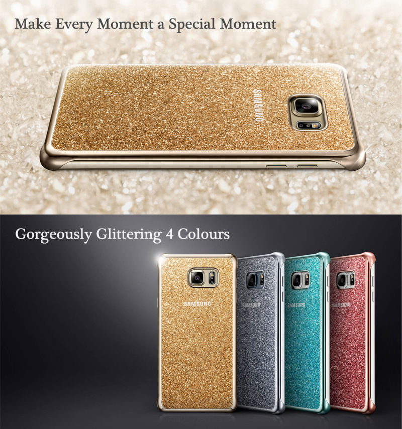 Genuine Samsung Glitter Cover Case For Galaxy Note 5
