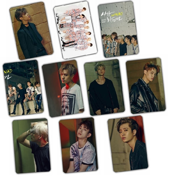 Sticker Card GOT7 MAD (10pc)
