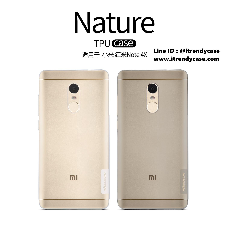 Xiaomi Redmi Note 4X - เคสใส Nillkin Nature TPU CASE สุดบาง แท้