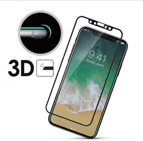 iPhone X (เต็มจอ/3D) - กระจกนิรภัย P-One FULL FRAME แท้