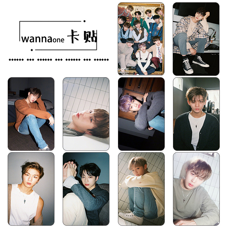 Sticker Card set WANNAONE 1-1=0 [B]