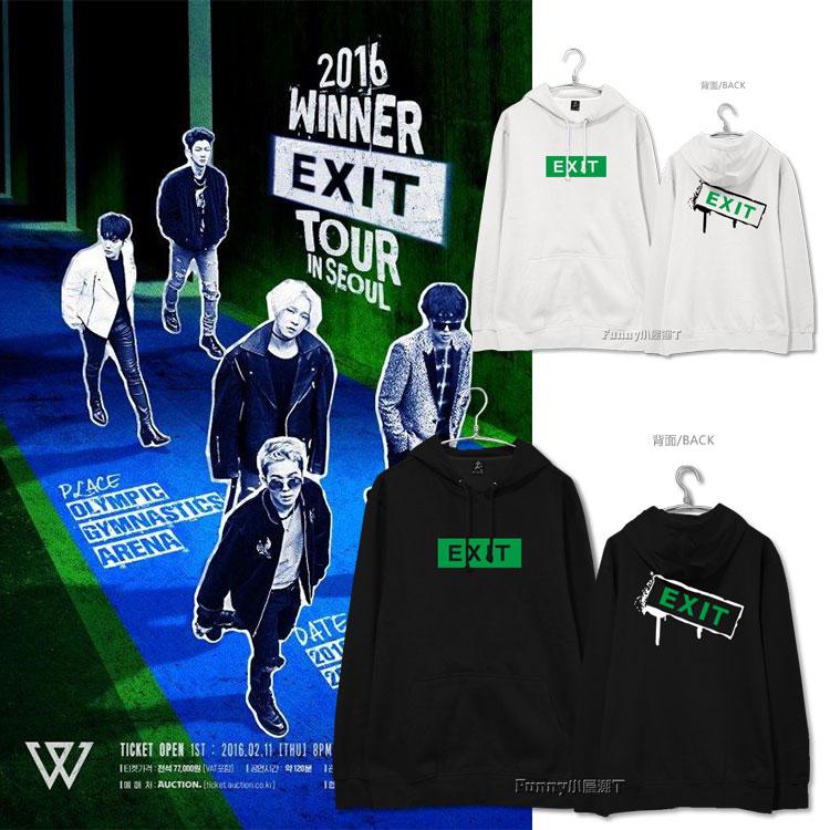 เสื้อยืด W-WINNER EXIT -ระบุสี/ไซต์-