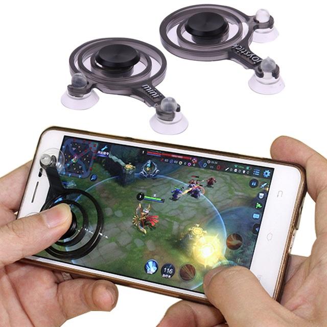 Fling mini Mobile Joystick จอยเล่นเกมส์มือถือแบบพกพา (1กล่อง : 2ชิ้น)