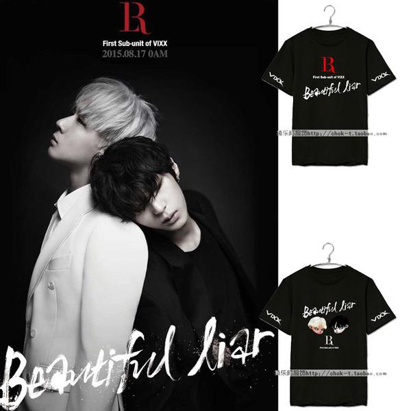 เสื้อยืด VIXXX LR Beautiful Liar -ระบุสี/ไซต์-