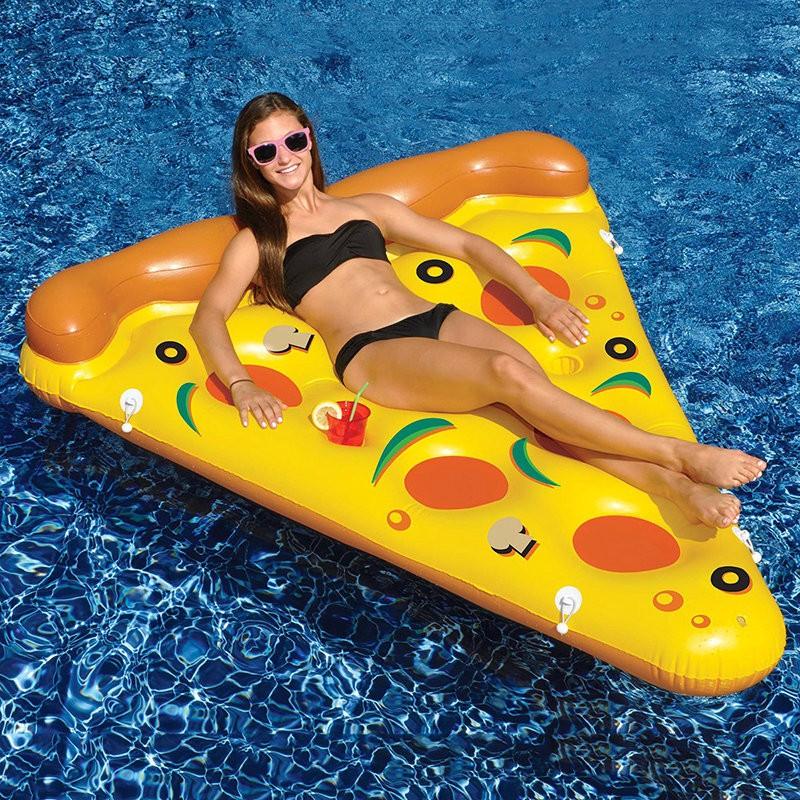 ห่วงยางพิซซ่าว่ายน้ำ ห่วงยางพิซซ่า แพยางพิซซ่า แพPizza แฟนซี พิซซ่า Pizza Pool Float