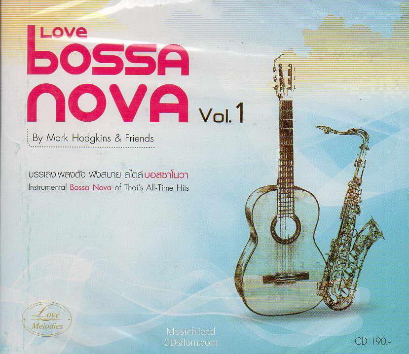 CD, Mark Hodgkins - Love Bossa Nova vol.1
