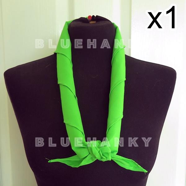 สีเขียวตอง สามเหลี่ยม100ซม ลูกเสือ