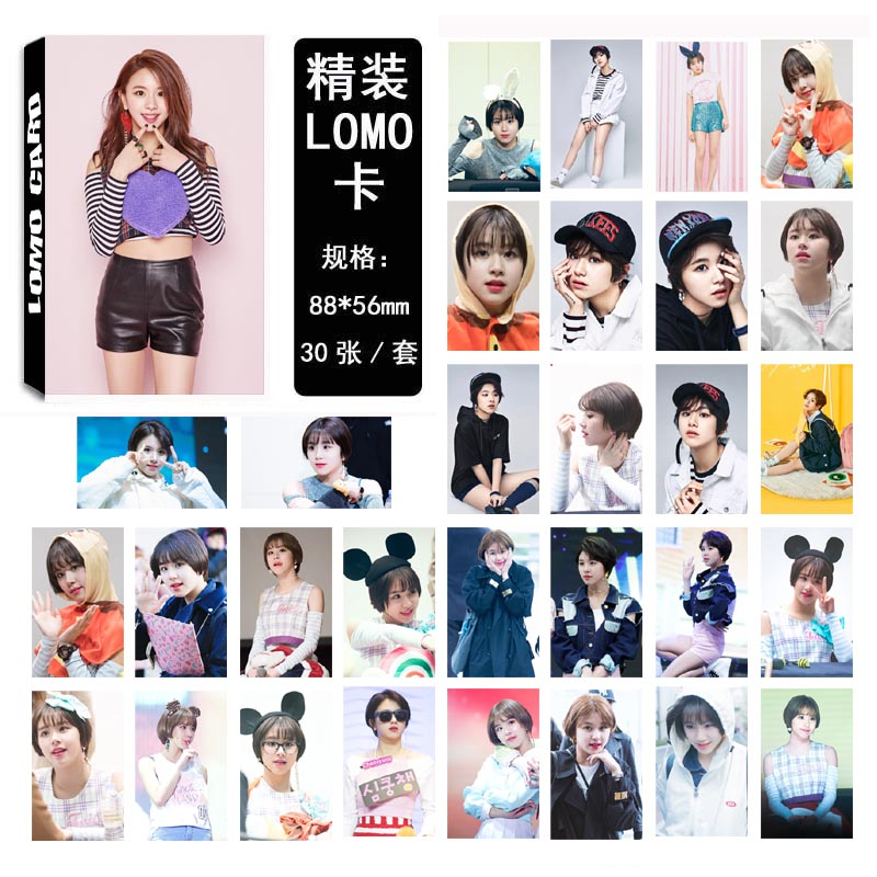 Lomo card set Twice - Chae Young (30pc)