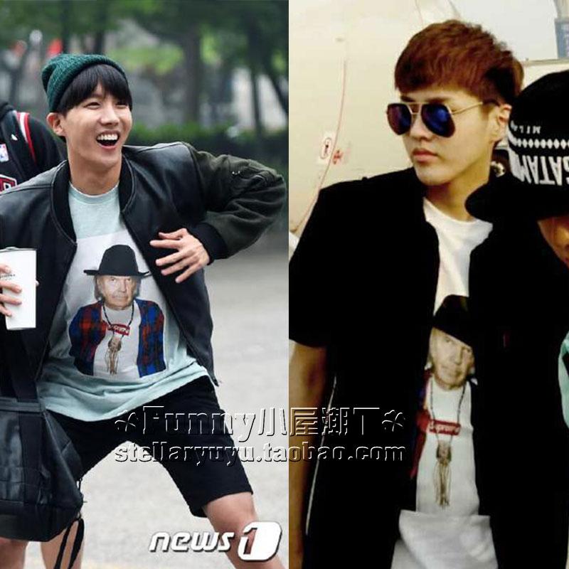 เสื้อยืด Supreme Vintage Sty.EXO BTS -ระบุไซต์-